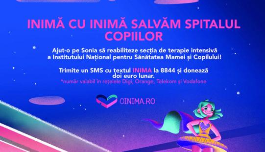 """O INIMA: Campania de reabilitare a Sectiei de Terapie Intensiva din Institutul National pentru Sanatatea Mamei si Copilului """"Alessandrescu-Rusescu"""","""